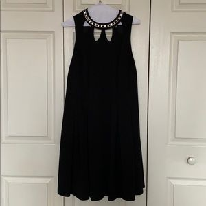 Black Knee Length Dress perfect for New Years Eve!